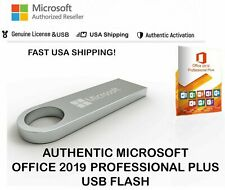Microsoft OFFICE 2019 PROFESSIONAL PLUS USB PACK SEALED 3 PC