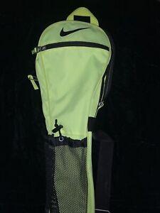 Nike Team Training Lacrosse Stick Bag Volt Green/Black
