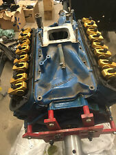 Ford 289 motor, K code Hipo Heads and Rods, offenhouser intake, roller rockers
