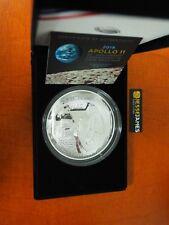 2019 P 5 Ounce Proof Silver Apollo 11 50Th Anniversary Commemorative Dollar 19Ch