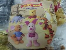 Bundle Winnie the Pooh 5 Toys Collections Mc Donald 5 On 6 Tigger Piglet