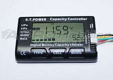GT Power Lipo/Life/NiMH Battery Pack Controller Checker Capacity/Voltage Meter
