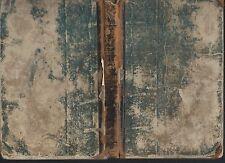 Choralbuch chorale book mennonite school music book 1860 fragile vtg hc book