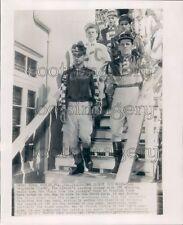 1952 Race Horse Jockeys Tony DeSpirito Tropical Park Coral Gables Press Photo