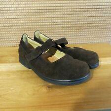 Birkenstock Footprints Shoes Brown Suede Mary Jane EU 39 US 8.5 - 9