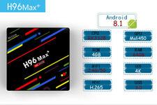 H96 Max+ Plus Smart TV Box Android 8.1 Quad-Core 4GB+64GB RK3328 4K Media Player