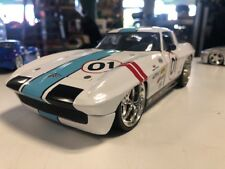 JADA 1963 CHEVY CORVETTE STING RAY COUPE 1:18 DIECAST Free Shipping!!