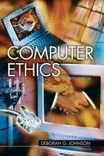 Computer Ethics (4th Edition) by Deborah Johnson Fourth Edition Free Shipping!