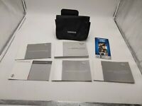 2016 16 Nissan Versa Sedan Owners Manual Owner's Guide Book Set With Case