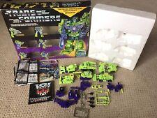 Devastator VINTAGE Giftset Complete 1985 Hasbro G1 Transformers