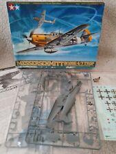 Tamiya 1/48 Messerschmitt Bf109E- 4/7 Trop Model Air Plane Kit #61063