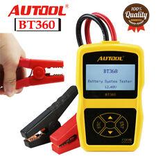 AUTOOL BT-360 12V Battery System Tester AGM GEL Lead Acid Charging Tester