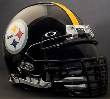 ***CUSTOM*** PITTSBURGH STEELERS NFL Riddell ProLine AUTHENTIC Football Helmet