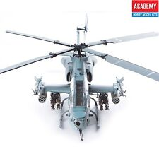 """Academy 1/35 #12127 USMC AH-1Z """"Shark Mouth"""" Marine Helicopter With Free Gifts"""