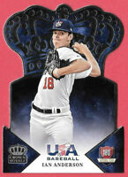 2015 Ian Anderson Panini USA Crown Royale Rookie - Atlanta Braves