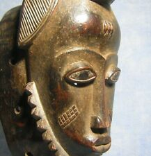 AFRICANTIC MASQUE BAOULE ART TRIBAL AFRICAIN STATUE AFRICAINE AFRICAN BAULE MASK