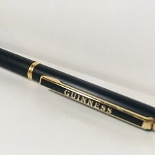 Vintage Guinness Ballpoint Pen With Cover