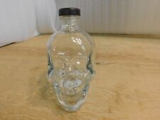 Crystal Head Vodka Skull Bottle With Top Empty 750ml