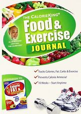 The Calorie King Food  Exercise Journal, New, Free Shipping
