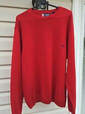 """2 Chaps men's sweater size XXL Perfect 1 Red and 1 Blue<meta name=""""viewport"""" con"""