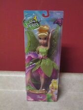 Disney Fairies Pirate Fairy New Sealed Doll 2014 Tink Green Tinkerbell 9""