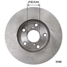 Disc Brake Rotor Front DURALAST by AutoZone 31295 fits 01-05 Toyota RAV4