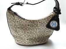 DOONEY & BOURKE Signature Embossed Purse Hobo Tote Bag