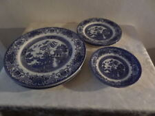 Blue Contemporary Original Staffordshire Pottery Tableware