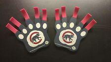 2 Chicago Cubs Mlb Foam Claws (Better than Finger) Fan Apparel Baseball Souvenir