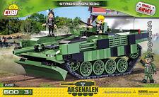 COBI 2498  Stridsvagn 103C  blocks   WWII   Swedish tank