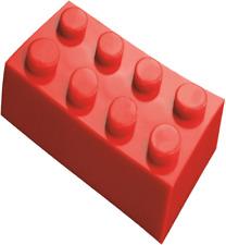 200 Pieces Generic Red 2x4 bricks Building blocks