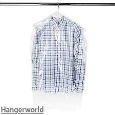 Hangerworld Housses transparentes en polyethylene pour Chemises/vestes