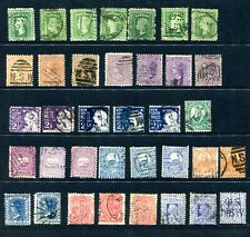 NSW stamp collection on single sheet