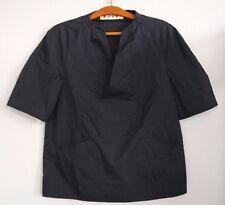 MARNI Italy navy nylon pullover shirt RARE XS