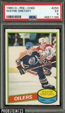 1980 O-Pee-Chee OPC Hockey #250 Wayne Gretzky Edmonton Oilers HOF PSA 5