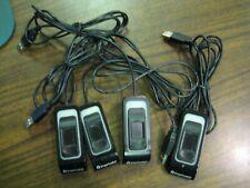 Lot of 4 Upek Imprivata Touch Tcrf1S Biometric Fingerprint Reader