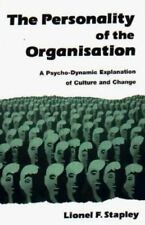 The Personality of the Organization: A Psycho-