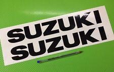 Suzuki Bellypan Track bike or road fairing Decals Stickers PAIR #174