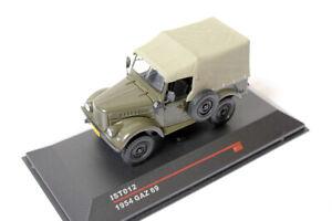GAZ-69 1954 Khaki / IST Models 012 / 1:43 / USSR UdSSR Russland