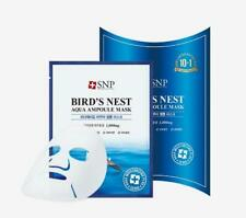 [SNP] Bird's Nest Aqua Ampoule Mask -1 Box(11 sheets) Korean Cosmetics beauty