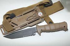 Wildsteer WTM 14C28N Stahl  Outdoormesser Einsatzmesser Bushcraft Tanto Messer
