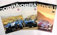 1990?s SHELBY COBRA Brochure's / Sheets: 289,427 s/c, Series 1, Continuation,