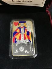**2008** RCM, Playing Cards, The Jack of Hearts, Silver Proof $15 Dollar
