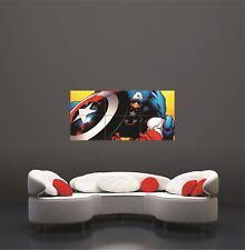 Captain America Super Hero Comic Movie Giant Art Print Poster