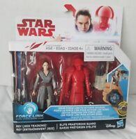 Star Wars: Force Link Rey (Jedi Training) and Elite Praetorian Guard Figures
