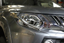Mitsubishi L200 Series 5 Chrome Head Lamp Covers L200 Styling Accessories 15 On