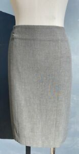 ANN TAYLOR WOMEN'S GRAY PENCIL SKIRT SIZE 6