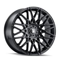 18x8 Touren TR78 3278 Gloss Black Wheels 5x112 40mm Set of 4