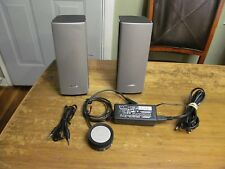 BOSE COMPANION 20 MULTIMEDIA SPEAKER SYSTEM RARELY USED PERFECT CONDITION