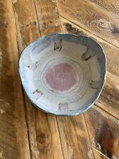 Hand Crafted Studio Art Ceramic Multi-Colored Artist Signed Bowl